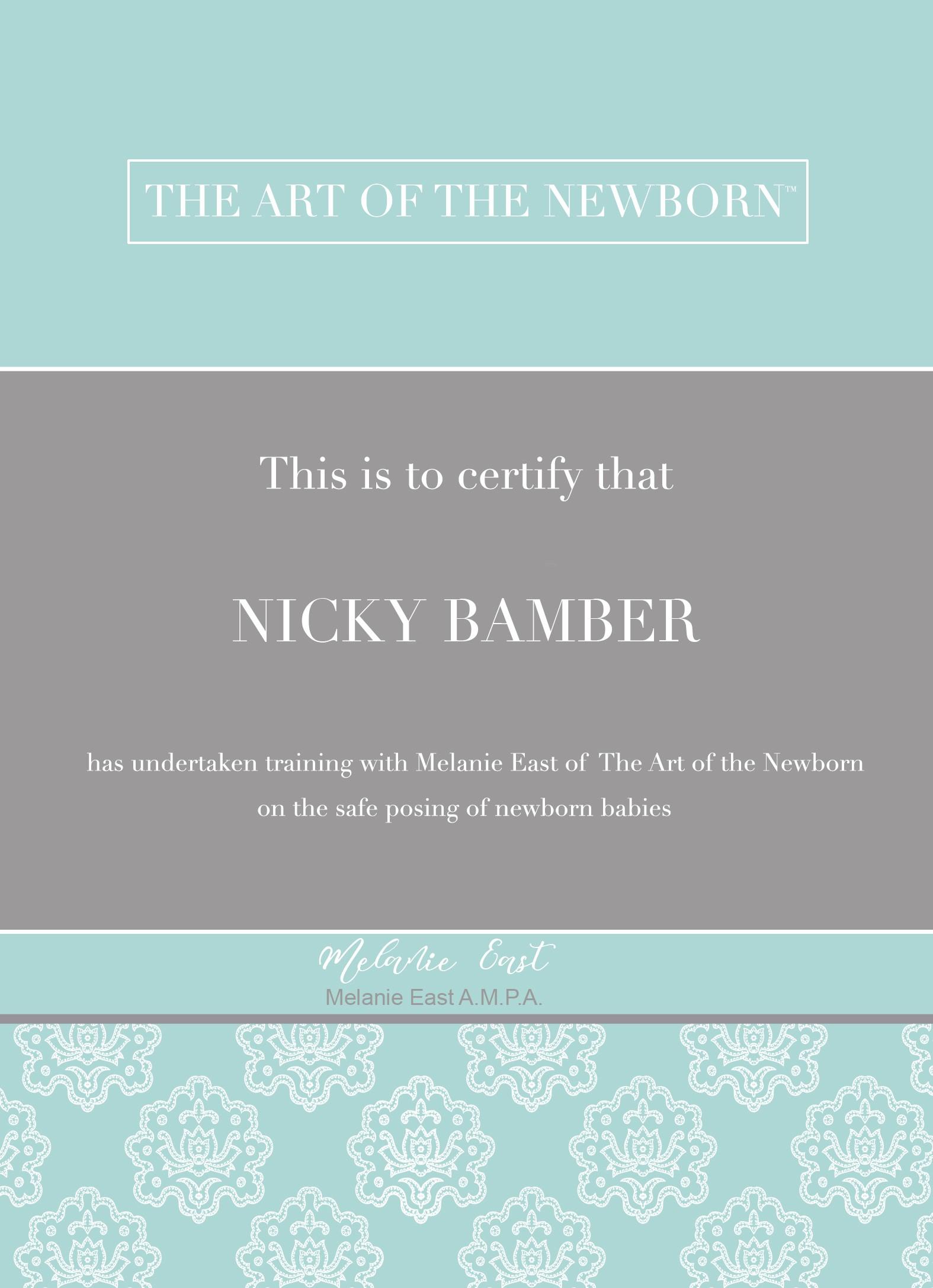 Newborn Certificate